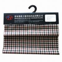 Buy cheap Worsted wool fabric, made of 95% wool and 5% polyester, 70/2 x 48/1, 280g/m from wholesalers