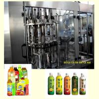 Buy cheap Fully Automatic Tea Hot Filling Machine / Packaging Machine 6000BPH 500ml Capacity from wholesalers