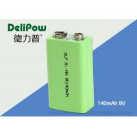 Buy cheap 9V Ni-Mh Industrial Rechargeable Battery 140mAh For Power Tools from wholesalers