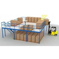 Buy cheap High Grade Steel Mezzanine Floor Heavy Load Max 4000mm Beam Length from wholesalers