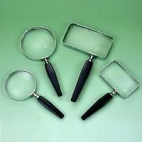 Buy cheap Handheld Bifocal Magnifiers with Metal Frame and Plastic Handle from wholesalers