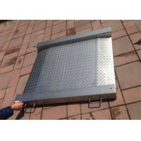Buy cheap Stainless Steel Industrial Floor Scale 5 Ton Max Capacity With Integrated Ramps from wholesalers