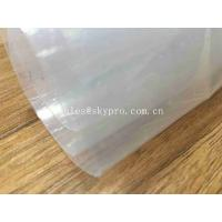 Buy cheap Transparent Sticky Silicone Rubber Sheet Rolls Medical Grade Customized from wholesalers