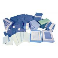 Buy cheap Green Compression Disposable Sterile Surgical Drapes , Anti Alcohol Disposable Drapes from wholesalers