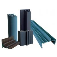 Buy cheap Grey E Shaped Aluminum Extrusion Profiles High Weather Resistance For Interior Decoration from wholesalers
