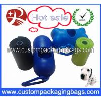 Buy cheap Scented Biodegradable Dog Poop Bags / Dog Waste Bags With Dispenser from wholesalers