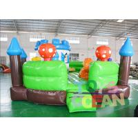 Buy cheap Happy Inflatable Bouncer Combo Castel Jumping House For Kids With EN14960 from wholesalers