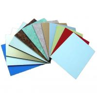 Buy cheap Polyester Paint Aluminum Metal Composite Material , Exterior Building Cladding Panels product