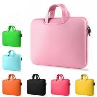 Buy cheap Shock Absorption Pink Womens Laptop BagCustomed Washable With Carry Handles from wholesalers