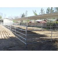Buy cheap Livestock Galvanized 1650mm Horse Corral Fencing from wholesalers