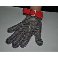 Buy cheap Safety Wire Mesh Stainless Steel Gloves For Protection Industry , Five / Three Finger Type from wholesalers