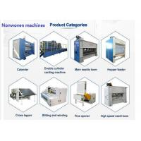 Buy cheap Non Woven Needle Punching Production Line Substrate Layer Use from wholesalers