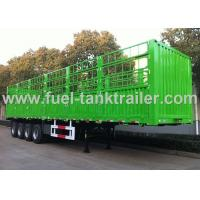 Buy cheap 4 Axle Cargo Container Trailer , Container Delivery Trailer 45000kgs Carrying Volume from wholesalers