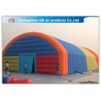 Buy cheap Giant Inflatable Party Tent Inflatable Structure Multi Color , 18*10m product