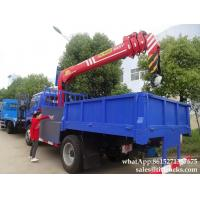 Buy cheap Forland dump truck with crane tipper trucks  Palfinger Telescopic boom 7T truck mounted crane Whatsp:8615271357675 from wholesalers