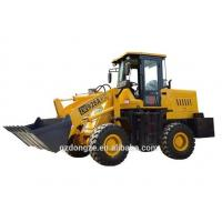 China Cheap wheel loader front end loader 4WD loader with attachments available on sale