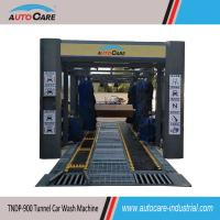 Buy cheap Automatic tunnel car washing equipment/ Automated car washer with Dual Flat Belt Conveyor from wholesalers