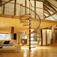 Buy cheap China factory supplier wood spiral stair used spiral staircases from wholesalers