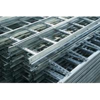 Buy cheap Heat Insulation Pre Galvanised Cable Tray , Light Duty Cable Tray Gray Color from wholesalers