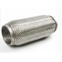 Buy cheap 64 X 90mm Auto Exhaust Flexible Pipe With Interlock 444 + 409L Material from wholesalers