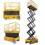 Buy cheap 3kw 12m GTJZ1012 Electric Auto Scissor Lift  / Aerial Work Platform from wholesalers