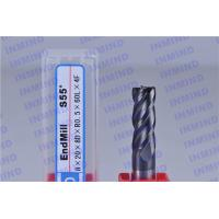 Buy cheap Tungsten Carbide Corner Radius End Mill with 4 Flute 25 mm Flute Length from wholesalers