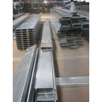 Buy cheap Anti-rust paint C Z Purlin Galvanised Steel Purlins Fabricated By Hongfeng from wholesalers