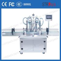 Buy cheap Automatic 4 Head Liquid Filling Machine Piston Filling Equipment from wholesalers