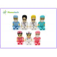 Buy cheap Mini gift Character USB Drives 64gb pendrive doctor nurse cartoon from wholesalers