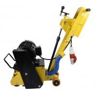 Portable Asphalt Milling Machine , Durable Walk Behind Scarifier Long Life Span