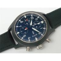 Buy cheap Replica watches Pilot's Watch Chrono - Automatic Edition Top Gun -7750 movement from wholesalers