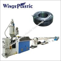 Buy cheap High- density Polyethylene Pipe Production Line , Plastic Water Pipe Plant from wholesalers