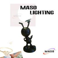 Buy cheap Residential Lighting Ant Stand Table Lamp Glass Ball Cover LED Bulb Light Source MS-T3002 from wholesalers