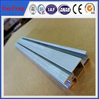 Buy cheap Solar panel mounting aluminum rail solar mounting rail, solar rails anodized aluminium from wholesalers