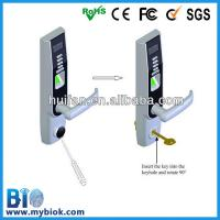 Buy cheap OLED screen Fingerprint & RFID door lock with usb interface Bio-LA501 from wholesalers