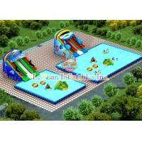 Buy cheap Strong PVC Square Swimming Pool For Water Park / Advertisement / Clubs product