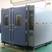 Buy cheap Stainless Steel Plate Walk-In Environmental Testing Chambers for PV Module from wholesalers