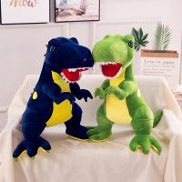 Buy cheap Dinosaur Stuffed Animal Dolls Pp Cotton Filling Eesy Clean 3 Different Colors from wholesalers