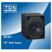 Buy cheap Martin 18inch Speaker S18+ Subwoofer For Pa Audio Professional Speaker from wholesalers