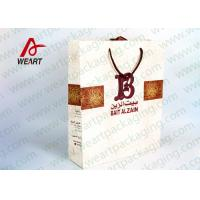 Buy cheap B LOGO Priting Funny Christmas Paper Bags For Gift 42 X 15 X 25cm Size from wholesalers