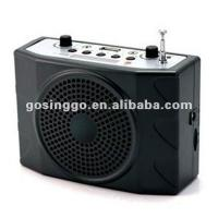 Buy cheap FM radio & waistband portable megaphone from wholesalers
