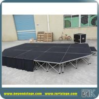 Buy cheap Indoor & Outdoor Events Mobile Stage With Shapes and Durable Risers Popular for Wedding Party Events Hire from wholesalers