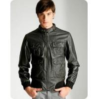 Buy cheap leather jacket men from wholesalers