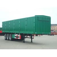 Buy cheap 3 Axle Dry Van Trailer Cargo Box Van Trailer 13M Length For Coal Transporting from wholesalers