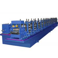 Buy cheap 7 Rollers Elevator Guide Rail Roll Forming Machine , Cold Roll Forming Machine With Punch Holes from wholesalers