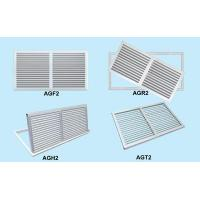 Buy cheap ZS-SK double deflection air louver with damper from wholesalers
