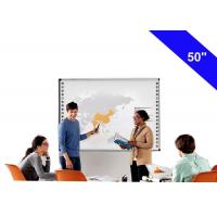 Buy cheap Durable Electromagnetic Interactive Whiteboard For Business 178° Viewing Angle from wholesalers