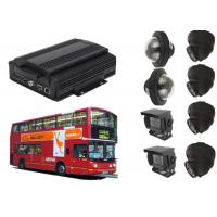 Buy cheap WIFI 8 Channel Vehicle Security Camera System With GPS Tracking / Video Display product
