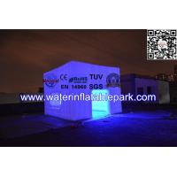 Buy cheap Attractive Rent Wedding Tent Lighting LED Structure / Inflatable Cube Tent from wholesalers