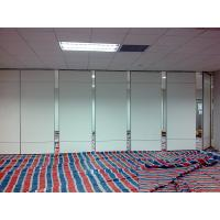 Buy cheap Soundproof Material Wooden Foldable Partition Wall / Aluminium Frame Sliding Room Dividers from wholesalers